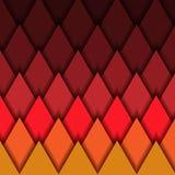 Fondo, triángulos y líneas poligonales geométricos stock de ilustración