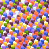 Fondo triangolare di Abstrack Fotografia Stock