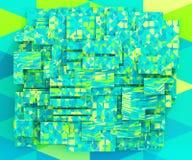 Fondo triangolare geometrico Fotografie Stock Libere da Diritti