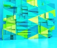 Fondo triangolare geometrico Fotografia Stock Libera da Diritti