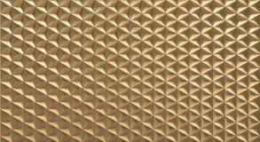 fondo triangolare poligonale del modello di forma di vettore 3D Fotografia Stock