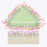 Fondo triangolo donne s giorno 8 marzo royalty illustrazione gratis