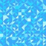Fondo triangulado violeta Contexto geométrico moderno del vector con los triángulos Modelo inconsútil Colores azules trendy stock de ilustración