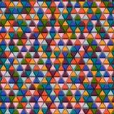 Fondo triangular de Abstrack Imagen de archivo libre de regalías