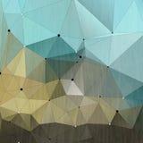 Fondo triangular del negocio de los elementos del vector Fotografía de archivo libre de regalías