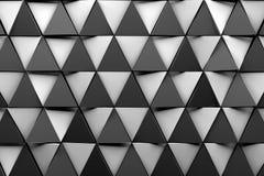 Fondo triangular del papel pintado del cgi 3d Fotos de archivo