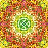 Fondo triangular ondulado colorido abstracto hermoso del modelo de la capa de la textura del zigzag de la pintura de Digitaces imagen de archivo libre de regalías