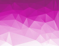 Fondo triangular polivinílico bajo para su flayer, folleto, fondo del cartel Imagenes de archivo