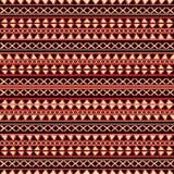 Fondo tribale decorativo Immagini Stock Libere da Diritti