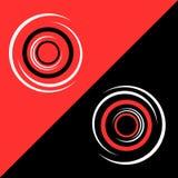 Fondo tricolor abstracto Fotos de archivo