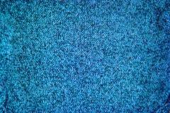 Fondo tricottato del modello di struttura del blu di turchese immagini stock libere da diritti