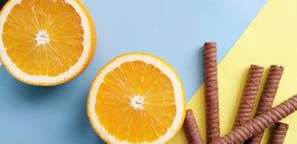 Fondo tropical de la fruta anaranjada, fresco fotografía de archivo
