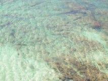 Fondo tropical del agua Fotos de archivo libres de regalías