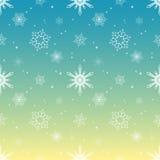 Fondo tropical del color del cielo de la capa del tinte del modelo del copo de nieve Fotografía de archivo