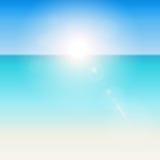 Fondo tropical del verano libre illustration