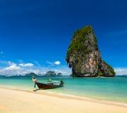 Fondo tropicale di concetto di vacanza della Tailandia Fotografie Stock