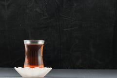 Fondo turco del nero e del tè Immagine Stock Libera da Diritti