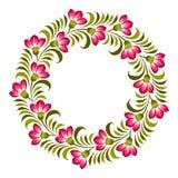 Fondo ucraniano floral Imágenes de archivo libres de regalías