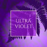 Fondo ultravioleta Fotografía de archivo libre de regalías
