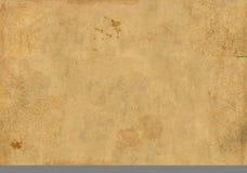 Fondo - una hoja del papel viejo, manchado Foto de archivo libre de regalías
