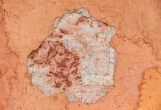 Fondo uncomplete della parete del cemento, struttura della parete Fotografia Stock Libera da Diritti