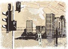 Fondo urbano Foto de archivo