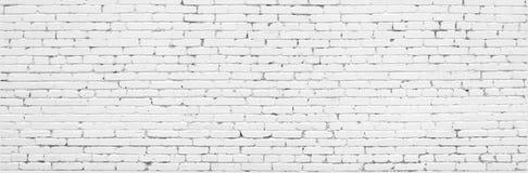 Fondo urbano de la pared de ladrillo vieja blanca imagen de archivo