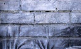 Fondo urbano del muro di mattoni bianco di struttura di lerciume retro carta da parati d'annata del vecchio contesto astratto fotografie stock libere da diritti