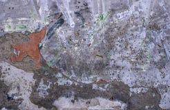 Fondo urbano del muro di mattoni bianco di struttura di lerciume retro carta da parati d'annata del vecchio contesto astratto immagini stock
