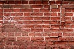 Fondo urbano del muro di mattoni rosso di struttura di lerciume retro carta da parati d'annata del vecchio contesto astratto immagine stock