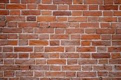 Fondo urbano del muro di mattoni rosso di struttura di lerciume retro carta da parati d'annata del vecchio contesto astratto immagini stock