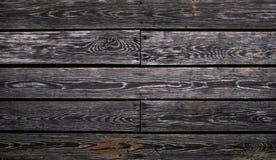 Fondo urbano scuro di legno Immagini Stock