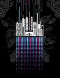 Fondo urbano, vector libre illustration