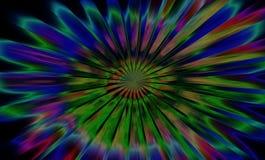 Fondo vago, blu, rosso, bianco Fotografia Stock Libera da Diritti