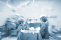 fondo vago con la stanza inoperating del chirurgo del gruppo Fotografia Stock Libera da Diritti