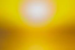 Fondo vago estratto giallo Fotografia Stock