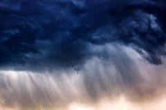 Fondo vago pioggia severa Immagine Stock