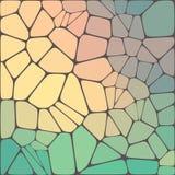Fondo variopinto del mosaico astratto di vettore royalty illustrazione gratis