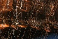 Fondo variopinto del movimento delle luci fotografia stock