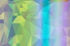 Fondo variopinto del poligono dell'arcobaleno illustrazione vettoriale