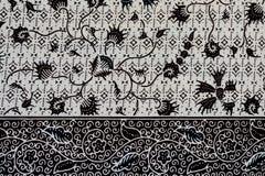 Fondo variopinto del tessuto del panno del batik Fotografia Stock