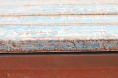 Fondo variopinto del tubo del metallo Fotografie Stock
