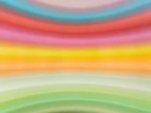 Fondo variopinto della curva della sfuocatura astratta Fotografie Stock
