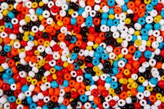 Fondo variopinto della perla Fotografia Stock Libera da Diritti