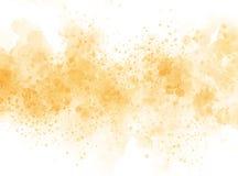 Fondo variopinto della pittura dell'illustrazione dell'acquerello di struttura della bella spazzola astratta illustrazione di stock