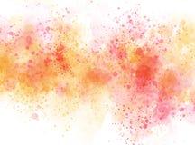 Fondo variopinto della pittura dell'illustrazione dell'acquerello di struttura della bella spazzola astratta illustrazione vettoriale