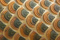 Fondo variopinto delle piastrelle di ceramica Fotografie Stock Libere da Diritti