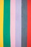 Fondo variopinto, di bande verticali colorate d'arcobaleno Fotografia Stock Libera da Diritti
