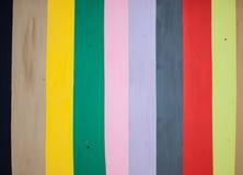 Fondo variopinto, di bande verticali colorate d'arcobaleno Immagini Stock Libere da Diritti