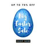 Fondo variopinto di grande vendita di Pasqua Fotografia Stock